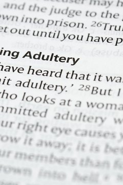 The Bible balances warnings against adultery with the promise of forgiveness.