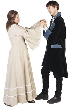 Period costumes are a natural for pairs, but cost more to make than most couples want to spend.