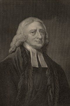 John Wesley founded the Methodist movement.