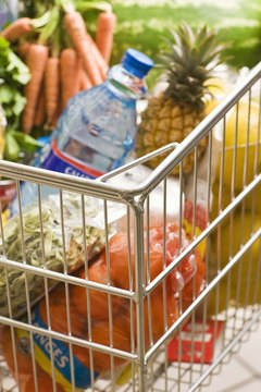 Grocery shopping and cooking instead of eating out are healthy for your budget.