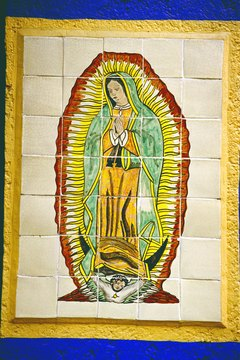 Mexico City has a shrine to Our Lady of Guadalupe.