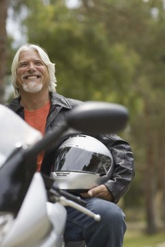 Good credit and a down payment pave the way for a motorcycle loan.