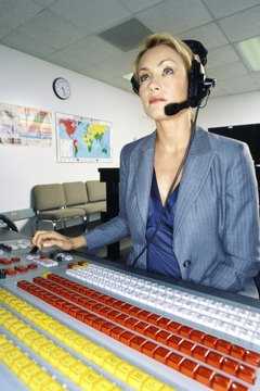 Traffic assistants make sure that TV and radio advertising goes smoothly.