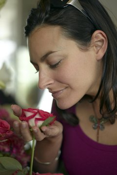 Florists don't have to stop to smell the roses; they are surrounded by them everyday.