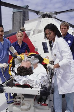 Emergency room physicians must quickly assess and diagnose patients.