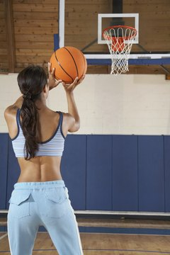 Small hand size is not a deterrent to shooting a basketball accurately.