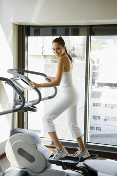 Ellipticals are easier on your knees than jogging.