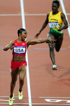 If you're ready to run like Carmelita Jeter, speed workouts provide the key.