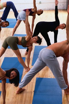 Power yoga classes can help you burn fat.