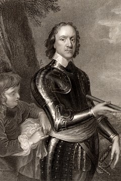 Oliver Cromwell emerged as the Roundhead leader.