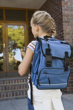 Correct backpack design and placement can minimize health risks.