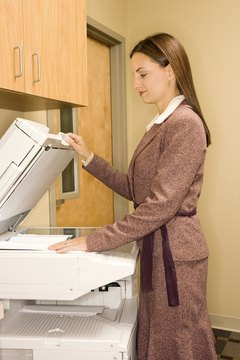 Don't use your office's photocopier for personal business.