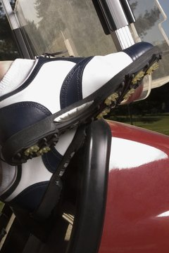 While not a necessity, golf shoes can inhance your stability through your swing.