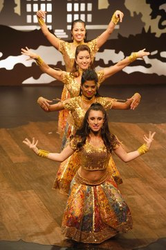 Bollywood dance is rich with beautiful hand and arm movements.