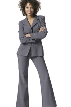 The right pantsuit has executive style.