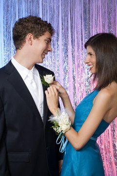 Take your dating status from casual to couple at the school prom.
