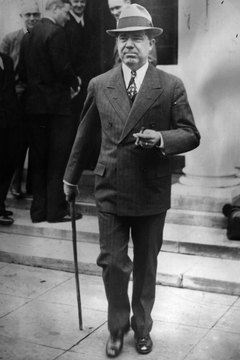 Huey P. Long's controversial plans led President Franklin D. Roosevelt to pronounce him one of the two most dangerous men in the country.