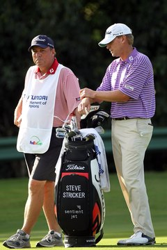 PGA Tour golfer Steve Stricker has experienced the highs and lows of professional golf.
