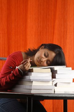 Most students spend many hours preparing for the GRE.