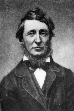 Henry David Thoreau refused to pay taxes that supported the war.