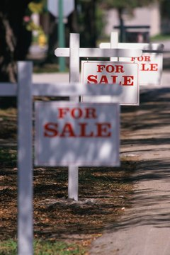 The county sheriff sells foreclosed homes every month.