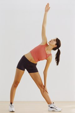 Yoga poses such as the triangle may help sacroiliac joint pain.