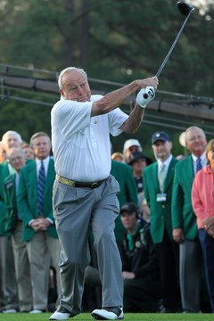 Arnold Palmer is known as one of golf's all-time great hitters.