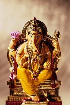 Ganesha is one of many gods in Hinduism as it is a polytheistic religion.