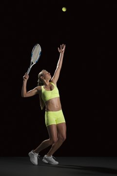 Pronation helps you end your serve with less arm stress.