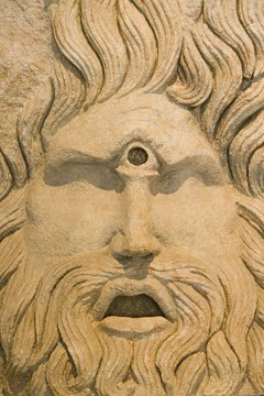 The presence of a single eye is the predominant characteristic of the figure of the Cyclops.