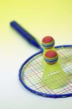 Playing badminton is both fun and promotes physical fitness.