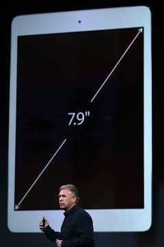 The iPad Mini offers a compact, 7.9-inch interface.