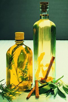 Olive oil is a rich source of heart-healthy fats.