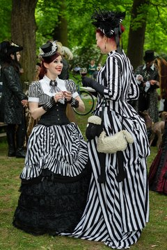 Social mores required a Victorian woman to avoid thinking herself better than others.