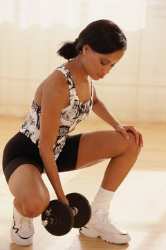 Dumbbell squats with shoulder presses are structural exercises.