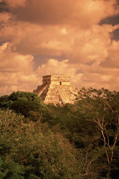 "Mayans dedicated the pyramid at Chichen Itza to the ""Plumed Serpent,"" Kukulcan"