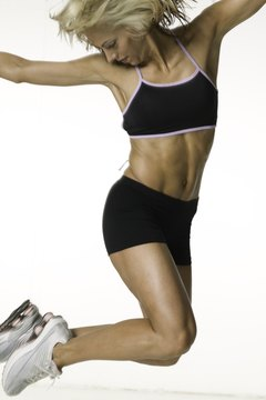 Twisting jumps help you lose belly fat.