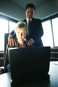 businesswoman and -man
