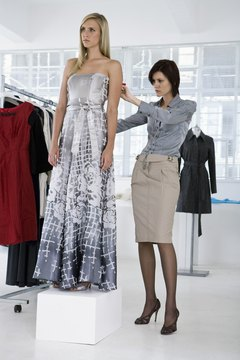 Several colleges teach students the traditional art form of dressmaking.