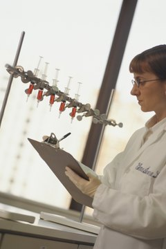 Pharmacologists usually work in a lab, researching drug interactions and effects.