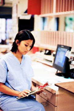 Medical assistants often perform clerical and routine clinical tasks.
