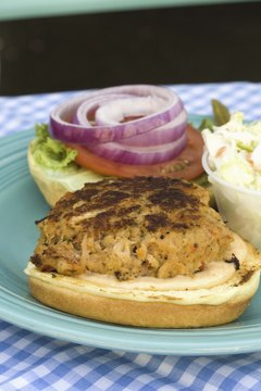 Enjoy a lean turkey burger on whole-grain bread.