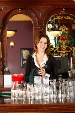 Bar backing can be an apprenticeship for aspiring bartenders.