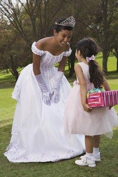 A debutante often dresses like a princess.