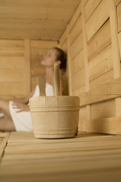 A sauna can be both healthful and harmful.