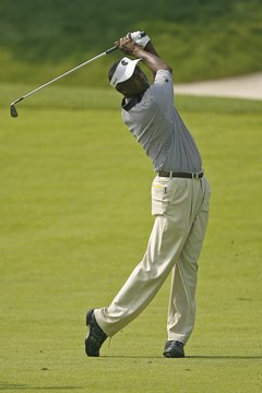 Vijay Singh doesn't replace his irons until they're worn out.