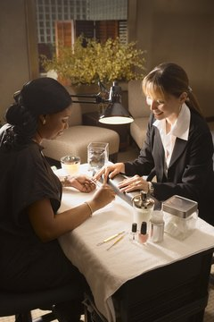 Schools for manicures and pedicures teach proper nail care and beauty tips.