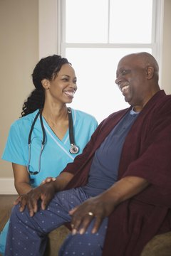 Some restorative nurse assistants provide home care services.