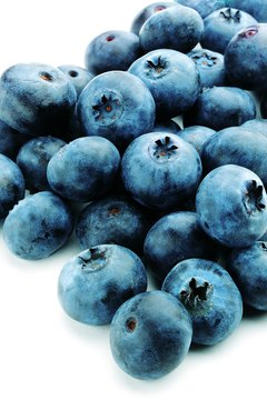 Blueberries are naturally high in sugar.