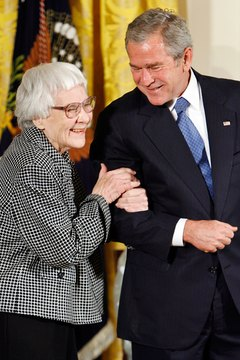 """To Kill a Mockingbird"" author Harper Lee was given a Presidential Medal of Freedom in 2007."